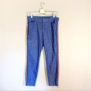 Old Navy | Pants Pixie Side Stripe Denim Size 4